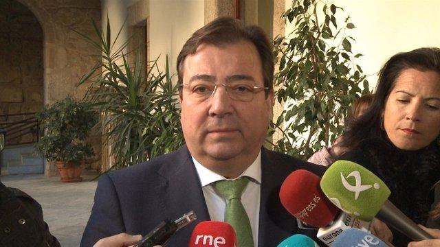 Vara en declaraciones a los medios este viernes en Mérida