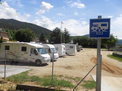 L'afluència d'autocaravanes a la Seu d'Urgell augmenta gairebé un 30% en el darrer any