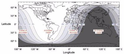 Eclipse lunar total y superluna el 21 de enero