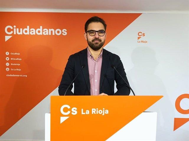 El Portavoz Del Grupo Parlamentario De Ciudadanos, Diego Ubis,