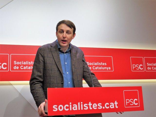 L'Eurodiputat Javi López (PSC)
