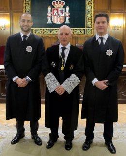 Nombramiento de dos nuevos jueces en el TSJCM