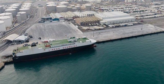 Terninal Ro-Ro del puerto de Algeciras