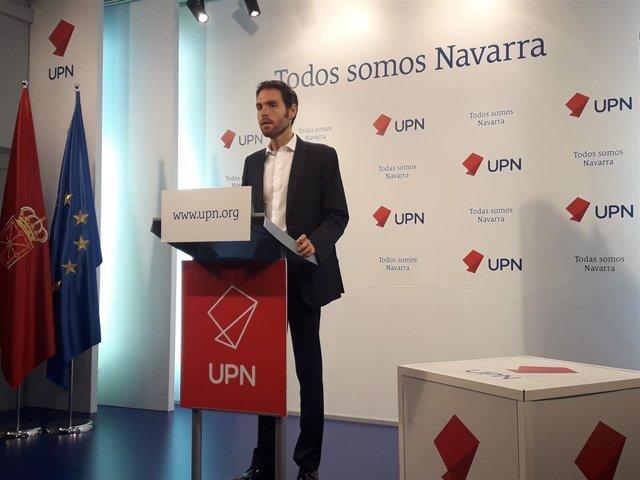 El parlamentario de UPN, Sergio Sayas.