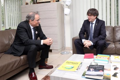 Puigdemont mantiene su no a aprobar los PGE, pero deja en manos de ERC y PDeCat su tramitación