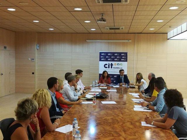Grupo trabajo empresarial en Marbella