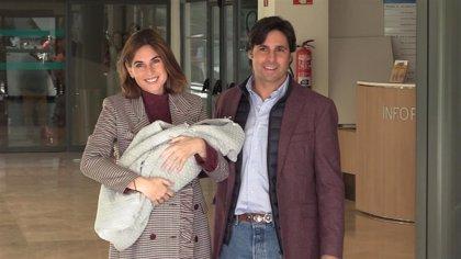 Francisco Rivera y Lourdes Montes presentan al pequeño Curro
