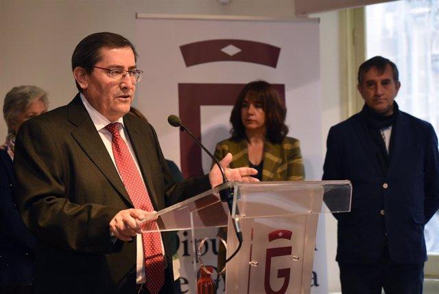 El presidente de Diputación de Granada, José Entrena.