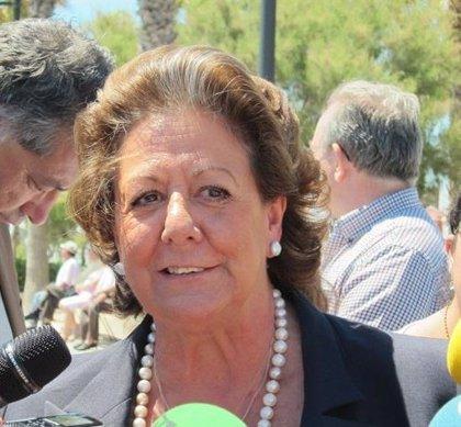 """La familia de Rita Barberá, indignada por el """"uso electoralista"""" de su figura y los """"elogios interesados"""""""