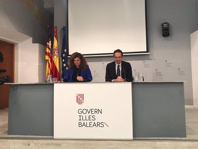 Portavoz del Govern balear, Pilar Costa