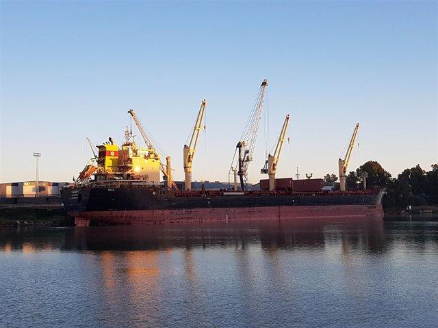 El buque 'Rodopi'
