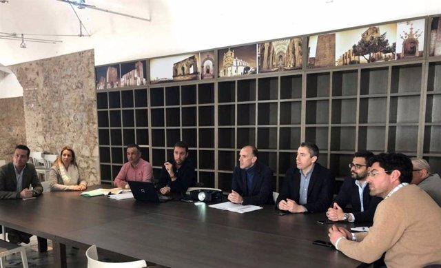Presentación de un proyecto de mejoras de senderos en Alqueva