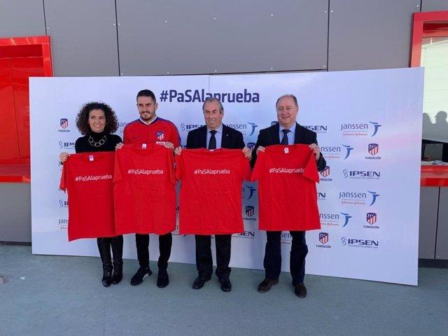Campaña de Atlético de Madrid, Janssen e Ipsen en cáncer de próstata
