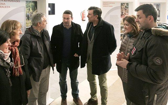 Inauguración de la exposición sobre La Dordoña