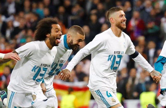 Real Madrid Bayern Sergio Ramos Marcelo Karim Benzema