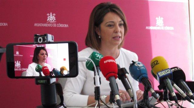 Isabel Ambrosio, alcaldesa de Córdoba