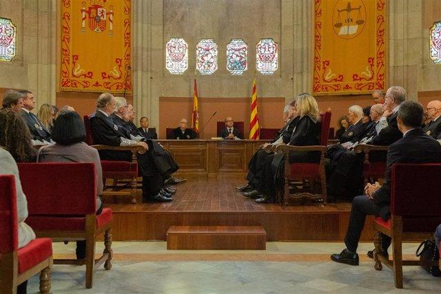 Jura de los nuevos jueces que ejercerán en Cataluña y toma de posesión del nuevo