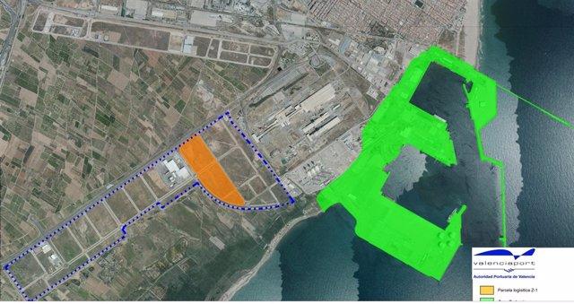Mapa de situación de la parcela