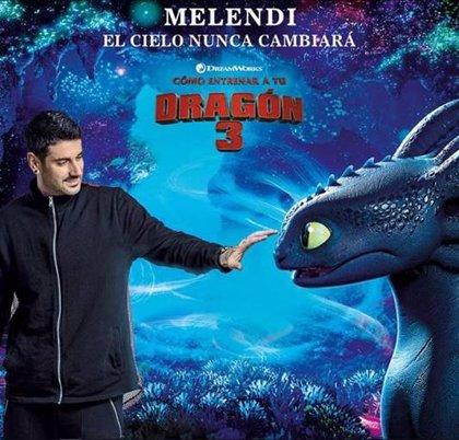 Escucha El cielo nunca cambiará, la palpitante canción de Melendi para la película Cómo entrenar a tu dragón 3