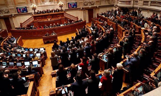 Pleno del Parlamento portugués (Archivo)
