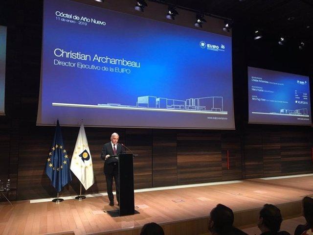 El director de la EUIPO, Christian Archambeau