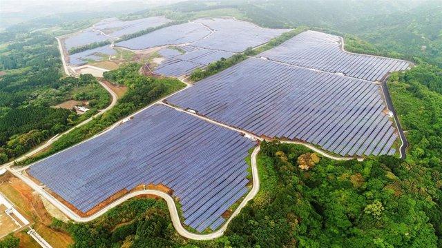 Planta fotovoltaica construida por ACS