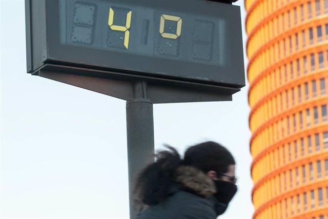 Bajas temperaturas, frío
