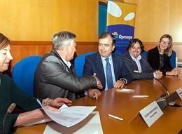 Acuerdo para financiación de Abanca de Opmega