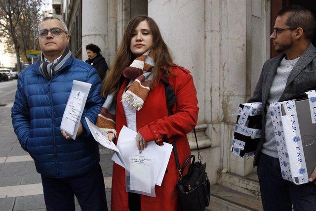 Els periodistes d'Europa Press Baleares i El Diario de Mallorca