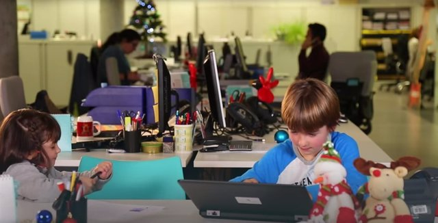 Nens a la feina (Arxiu)