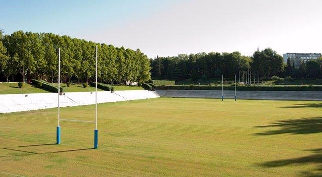 Estadio Central de rugby de la Complutense