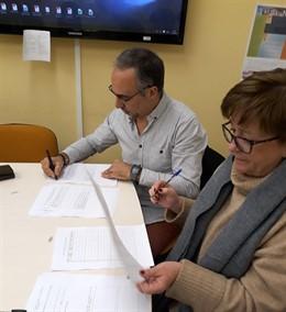 Convenio de adhesión del Instituto Julio Caro Baroja al programa 'Tiempo Fuera'