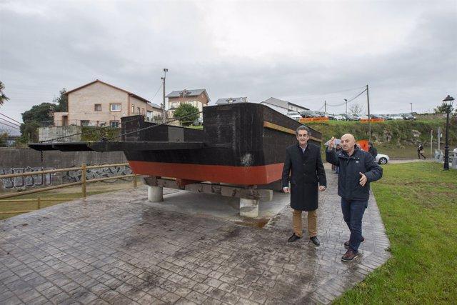 Regeneración del entorno del monumento de la Barca de Treto