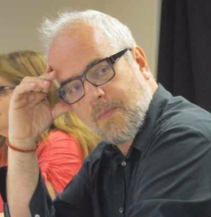 El editor Claudio López Lamadrid (Penguin Random House), en estado de muerte cerebral