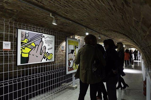La exposición 'Roy Lichtenstein. Posters'