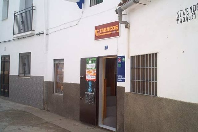 Despacho de venta de Loterías de Serradilla (Cáceres)