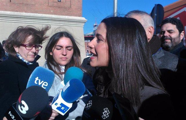 La presidenta de Cs en Catalunya, Inés Arrimadas