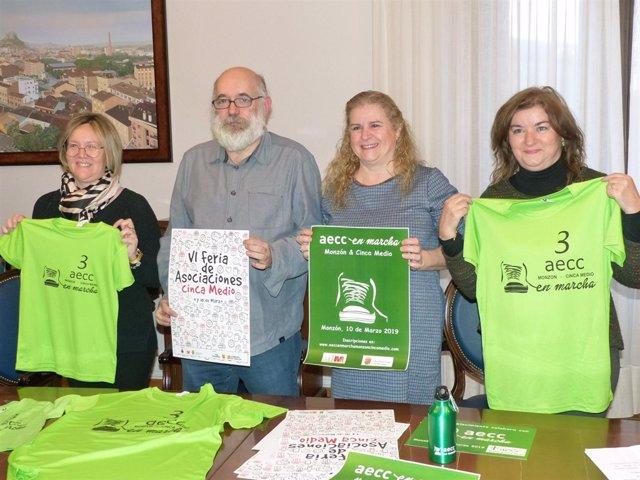 Presentación de la III andada solidaria AECC En Marcha.