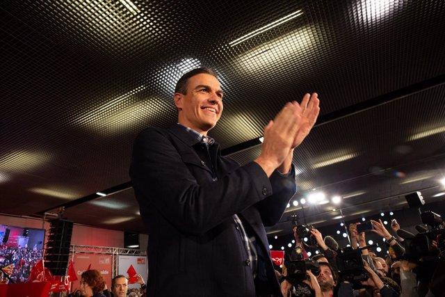 Acto de presentación del candidato del PSC a la alcaldía de Barcelona, Jaume Col
