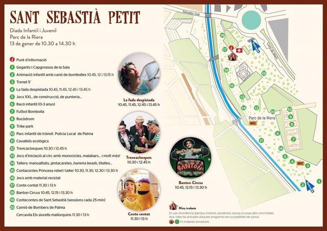 Plano de la diada Sant Sebastià Petit