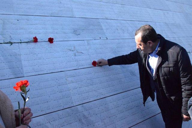 Jose Luis Ruiz Espejo en homenaje Memoria Historica