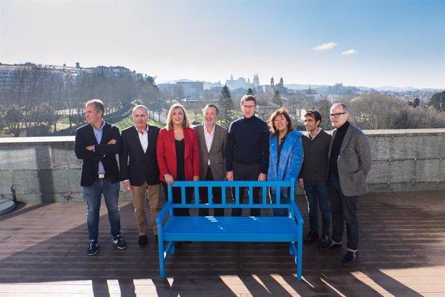 Feijóo presenta a los candidatos a las siete ciudades