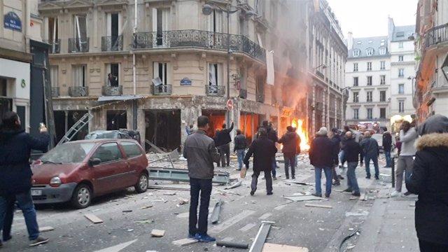 Foto del suceso en París