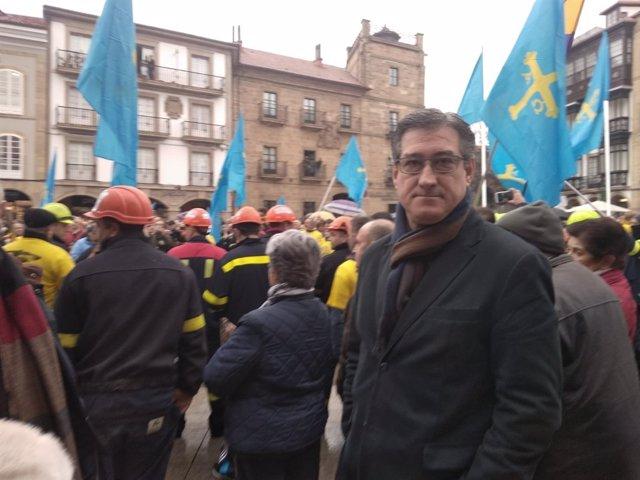 Ignacio Prendes en Avilés.