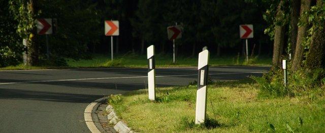 Curva de carretera