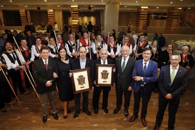 Entrega de los premios de la Peña Campurriana de Santander