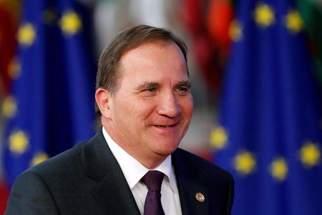 El primer ministro en funciones de Suecia, Stefan Lofven