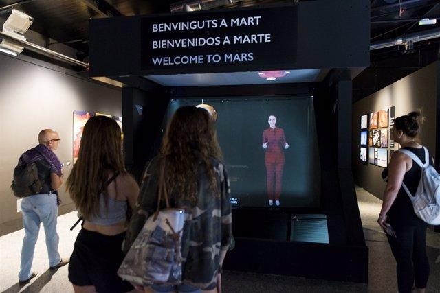 Exposición 'Bienvenidos a Marte' de la Ciutat de les Arts y les Ciències