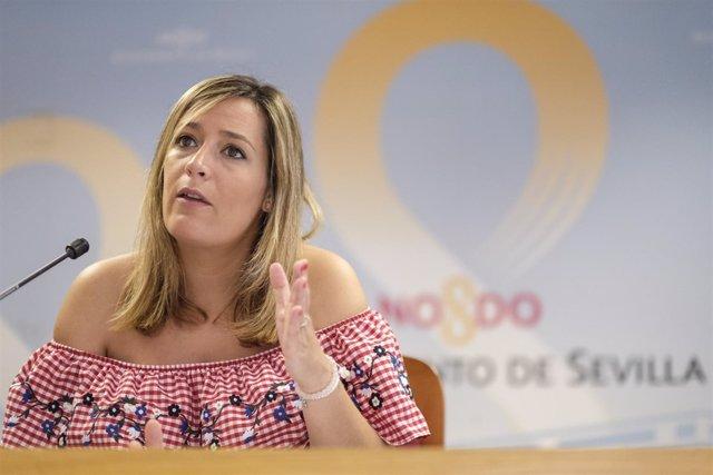 La delegada de Igualdad, Myriam Díaz (PSOE)