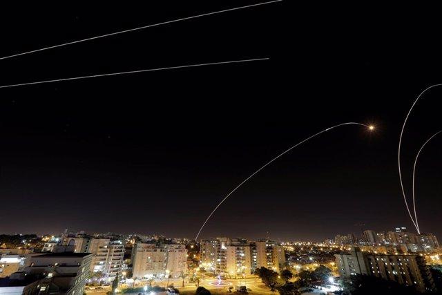Escudo antimisiles israelí sobre Ashkelon